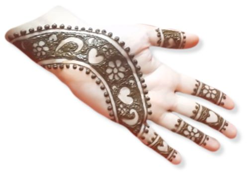 Strip Mehndi