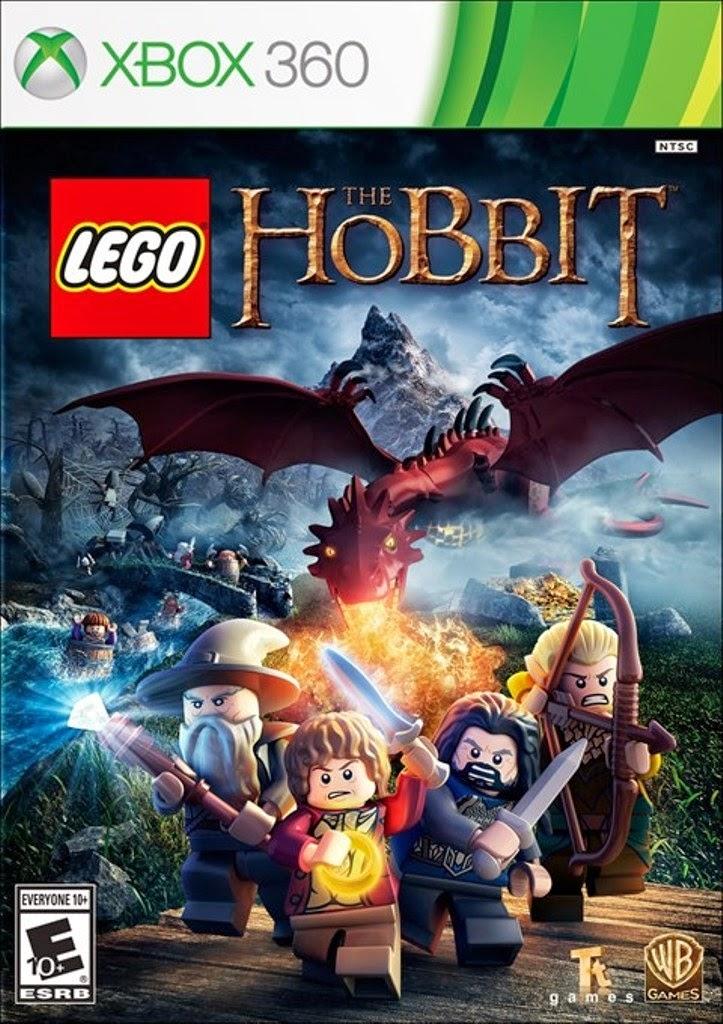 Cover Caratula LEGO The Hobbit XBOX 360