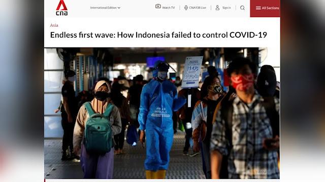 Media Asing Soroti Kegagapan Pemerintah Indonesia Tangani Covid-19