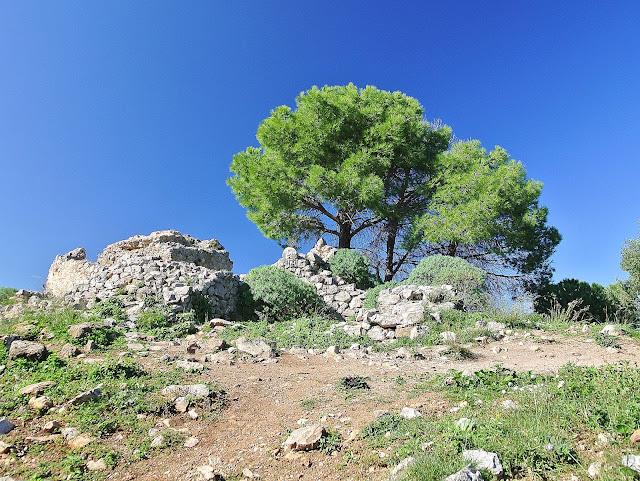 szczyt La Rocca w Cefalu, widok na górę