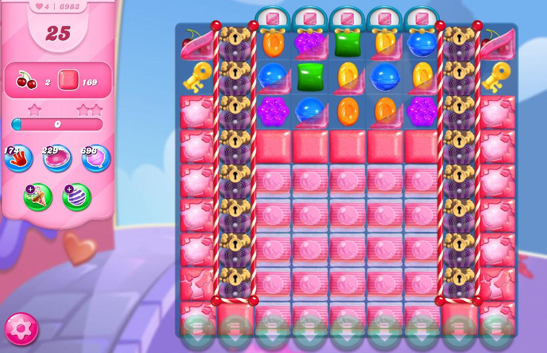 Candy Crush Saga level 6983