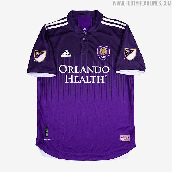 Orlando City 2021 Home Kit Released - Footy Headlines