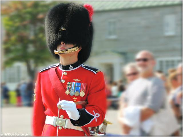 Uniforme de Gala de los Soldados de la Ciudadela de Quebec
