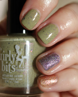 Girly Bits Cosmetics Peace-Oop, Hat-A-Tude and Sun Dog nail polish