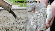 Cement vs Concrete : The difference in Composition and Scope