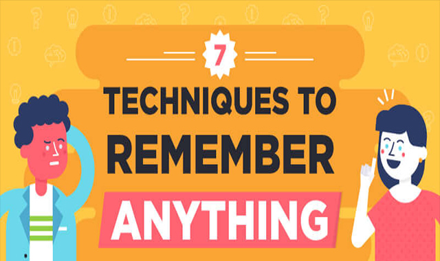 7 How to make sure nothing is forgotten! #infographic