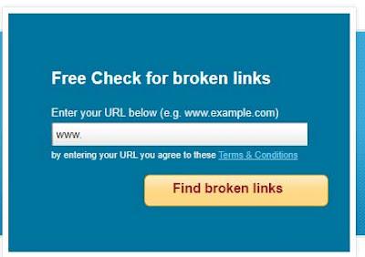 Online-broken-link-checker