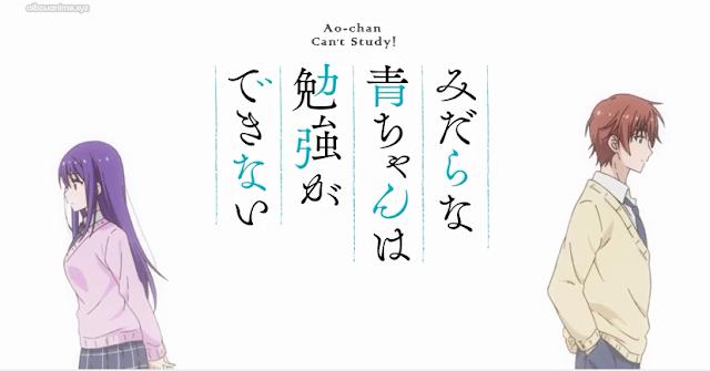 Midara na Ao-chan wa Benkyou ga Dekinai