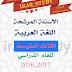 مرشحات القواعد والادب والانشاء للصف الثالث متوسط للعام 2017 للاستاذ محمد الخفاجي الدور الاول
