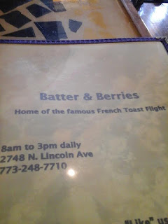 Batter & Berries Menu