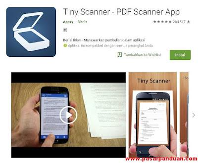 Cara Scan Dokumen Dengan HP Menjadi File JPG,PDF,dan Word