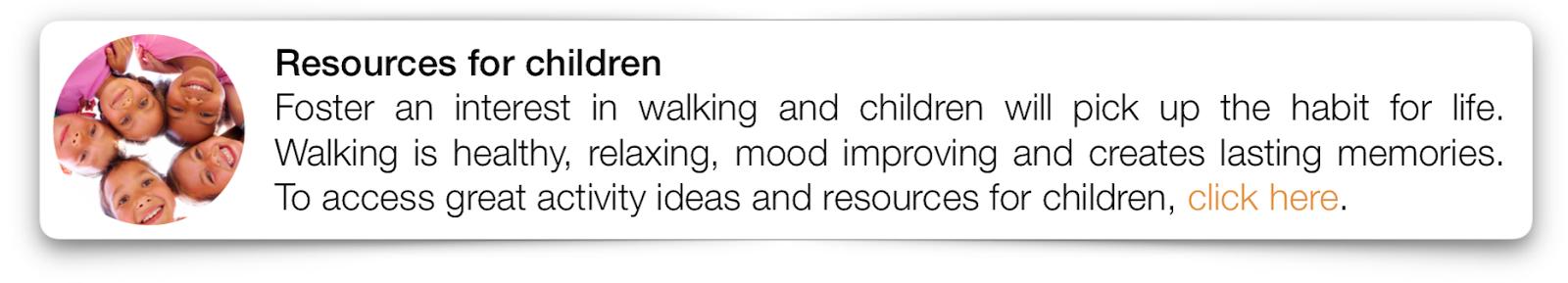 Cambridgeshire Walks resources for children