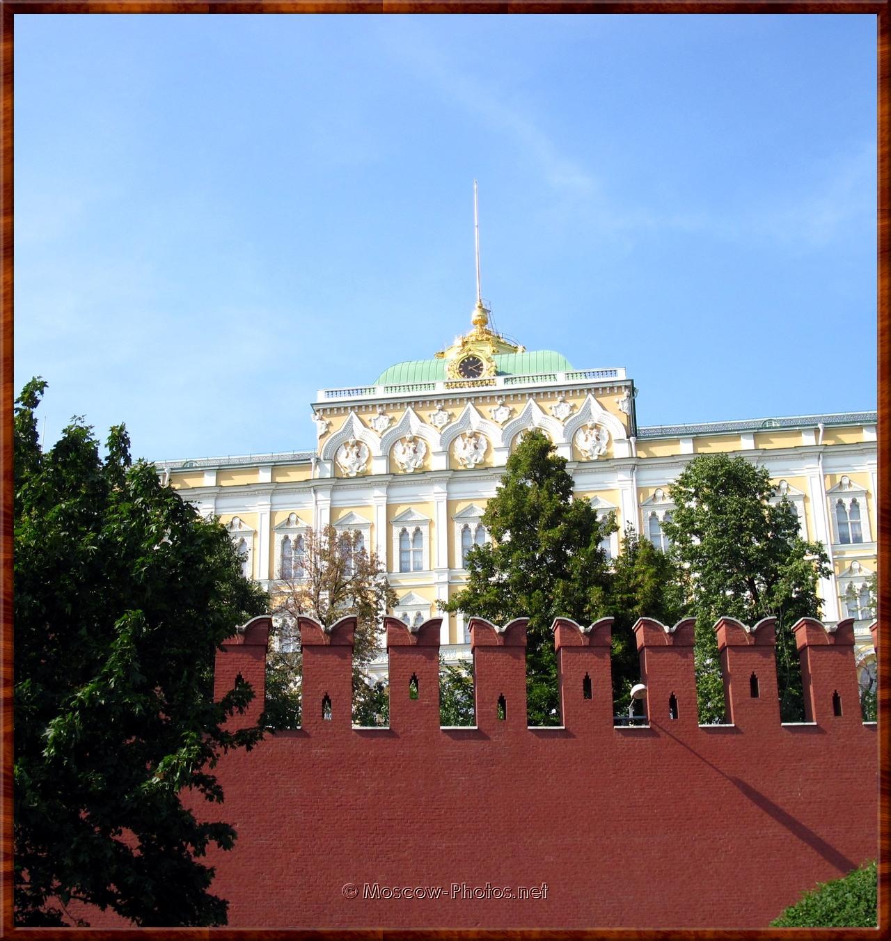 Fragment of Kremlin wall