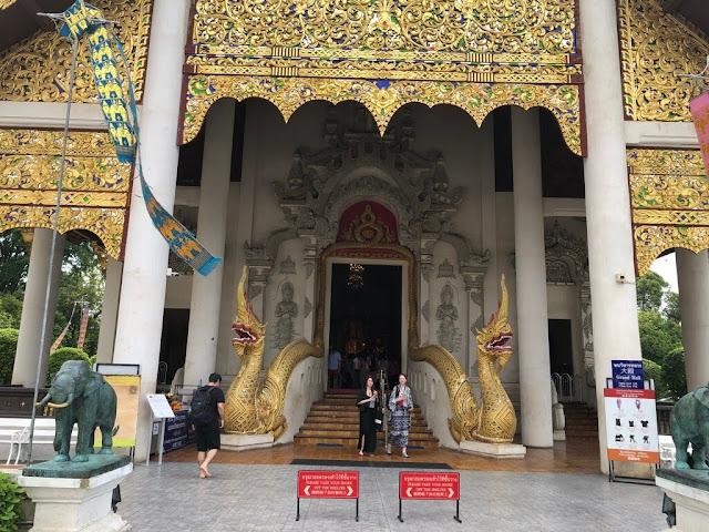 Wat Chedi Luang - Chiang Mai - Tailândia