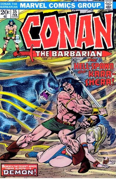 Conan the Barbarian #35, Kara-Shera