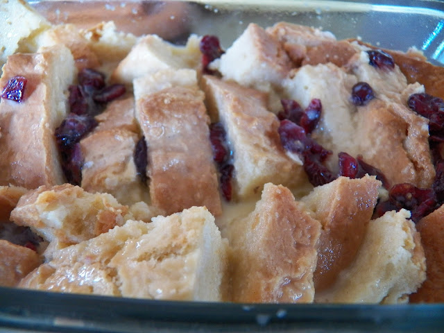 Bread Pudding made from Leftover Soda Bread