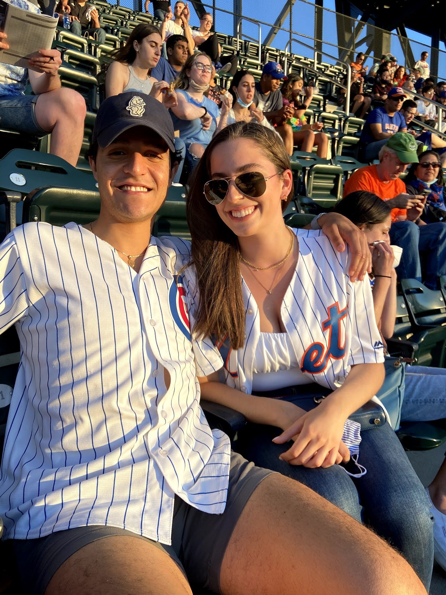 baseball game, mets game, cubs game, citi field, nyc, new york, what to wear to a baseball game