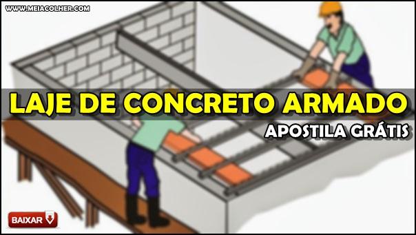apostila de lajes de concreto armado pdf