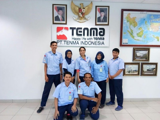 Lowongan Kerja Jobs : Staff Accounting, Maintenance (Teknisi), Maintenance Lulusan Min SMA SMK D3 S1 PT Tenma Indonesia