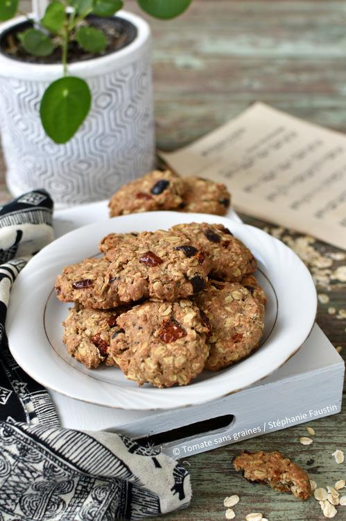 Cookies salés aux saveurs méditerranéennes