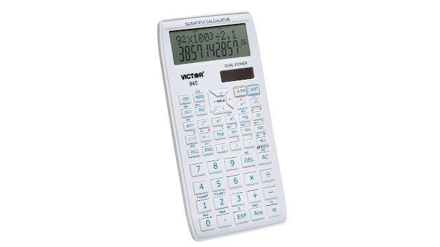 Victor 940 10-Digit Advanced Scientific Calculator