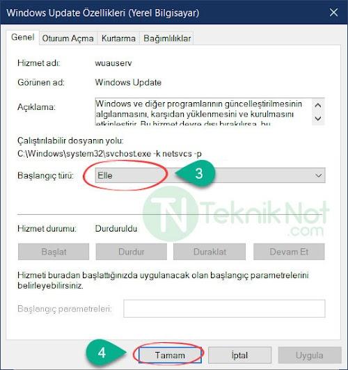 Windows 10 0x80070422 Hatası Çözümü