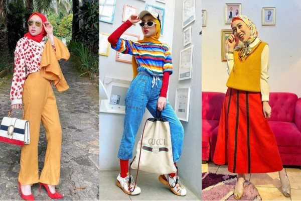 Dare to use colorful tops