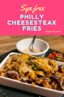 philly cheese steak fries  slimming world recipe