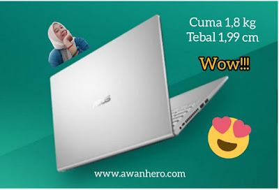 Asus VivoBook 15 A516, 1,8 kg