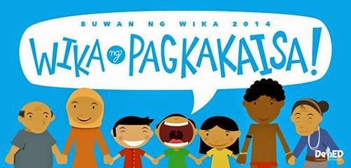 filipino wika ng pagkakaisa essay
