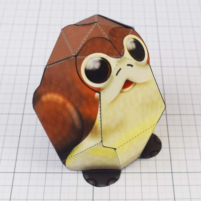 Star Wars Porg Paper Toy