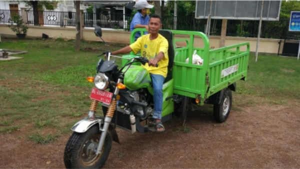 Becak Patroli Sampah Gampong Terbukti Bisa Antisipasi TPS Liar