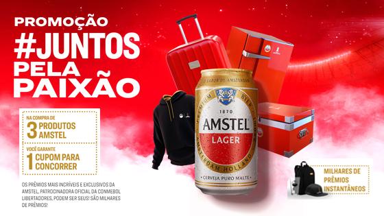 Promoção Juntos Pela Paixão Amstel