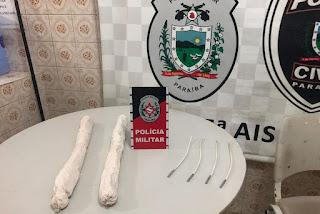 Polícia apreende explosivos e frustra provável ataque a banco na Paraíba