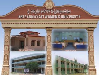 SPMVV padmavati University Results