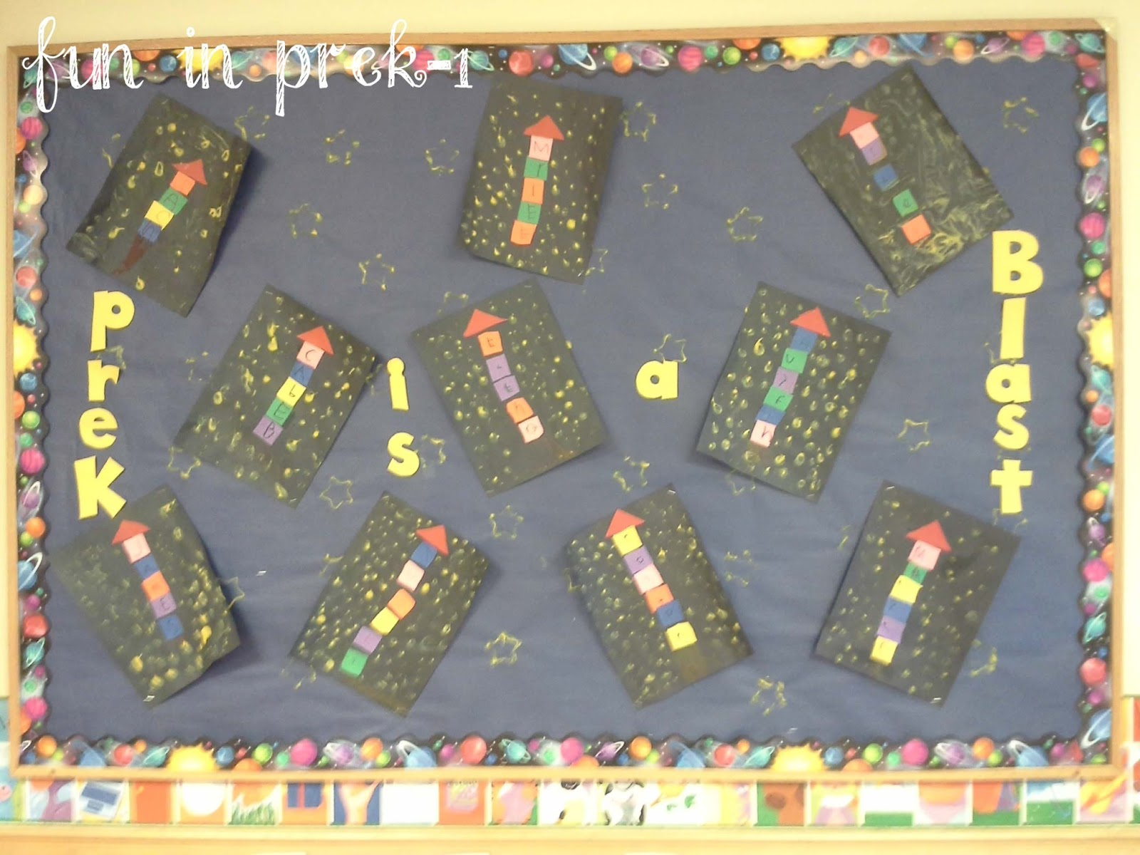 Fun In Prek 1 There S No Place Like Space Outer Space