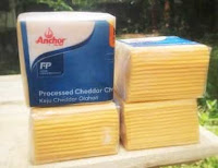Contoh Red Slice Melted Cheddar Cheese