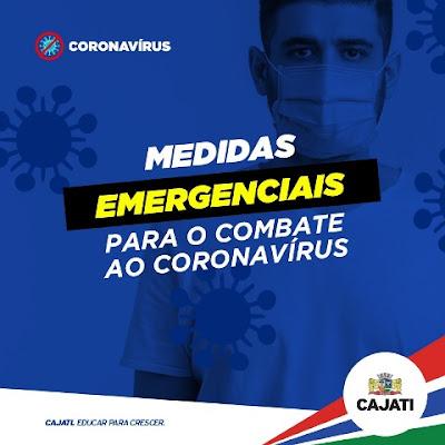 Cajati publica o novo Decreto para o enfrentamento à COVID-19