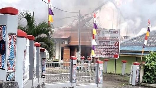 Mabes Polri: 25 Fasilitas Publik Rusak Akibat Unjuk Rasa di Manokwari dan Sorong