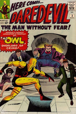 Daredevil #3, first appearance the Owl