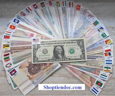 Bộ tiền quốc tế 100 tờ 100 nước
