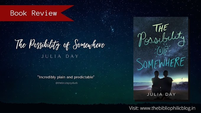 [Book Review] The Possibility of Somewhere - Julia Day