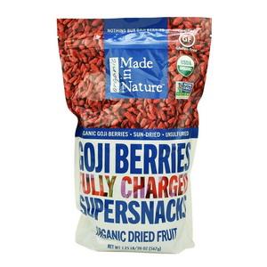 Hạt Kỷ Tử Sấy Organic Goji Berries Made In Nature Hàng Xách Tay Từ Mỹ