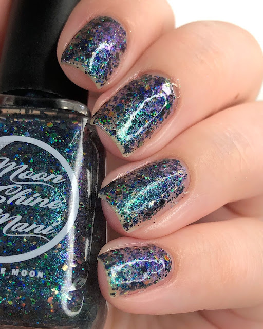Moon Shine Mani Professor Plum 25 Sweetpeas