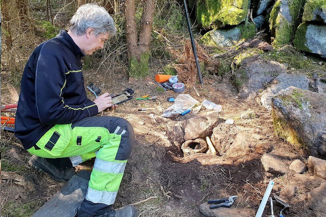 Swedish orienteering enthusiast finds Bronze Age treasure trove