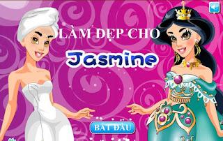 Game làm đẹp cho Jasmin hay nhất