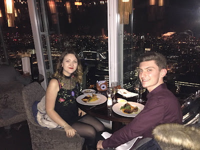 Dining in Aqua Shard