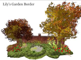 Lily's Garden Border