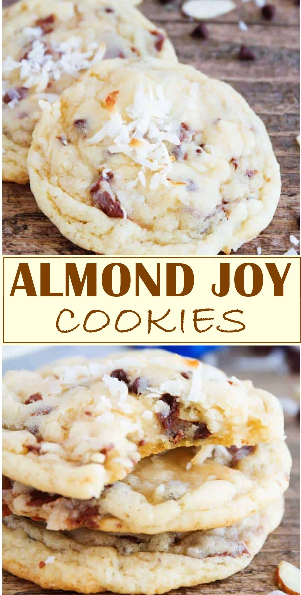 ALMOND JOY COOKIES #cookiesrecipes