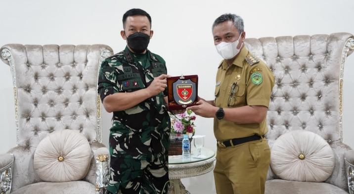 Kunker Pangdam Hasanuddin di wilayah Jajarannya : Palopo, Luwu ,Lutra dan Lutim